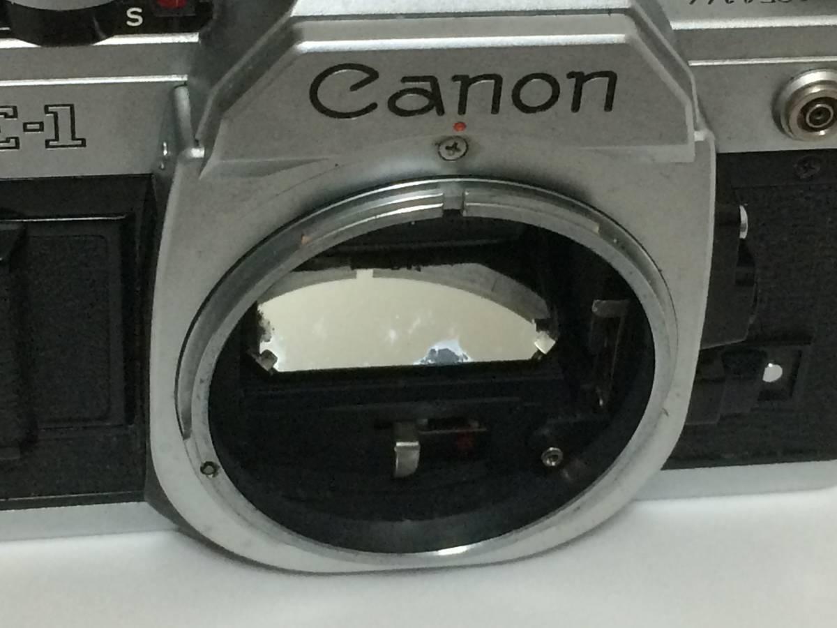 A11 キャノン AE-1 CANON LENS FD 50mm 1:1.4 ジャンク扱い_画像4