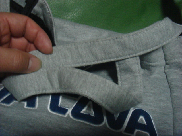 1805シナコバSINA COVAヘザーHEATHER霜降スウェット素材レタード ロゴ トートバッグBAGかばん鞄ハンド _画像4