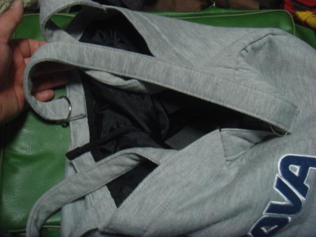 1805シナコバSINA COVAヘザーHEATHER霜降スウェット素材レタード ロゴ トートバッグBAGかばん鞄ハンド _画像7