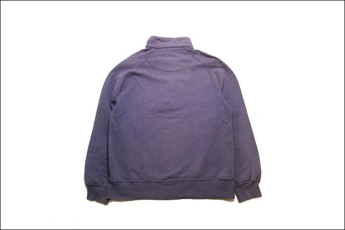【LARGE】 90's Champion チャンピオン スウェット ハーフジップ USA製 紫 ビンテージ ヴィンテージ 古着 オールド TM72_画像2