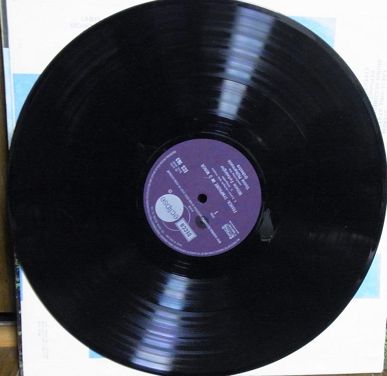 【英デッカ LP盤】フルトヴェングラーのフランク交響曲 エクリプス盤_画像3