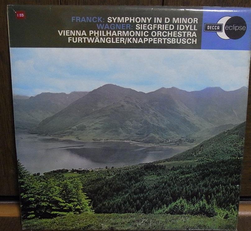 【英デッカ LP盤】フルトヴェングラーのフランク交響曲 エクリプス盤_画像1