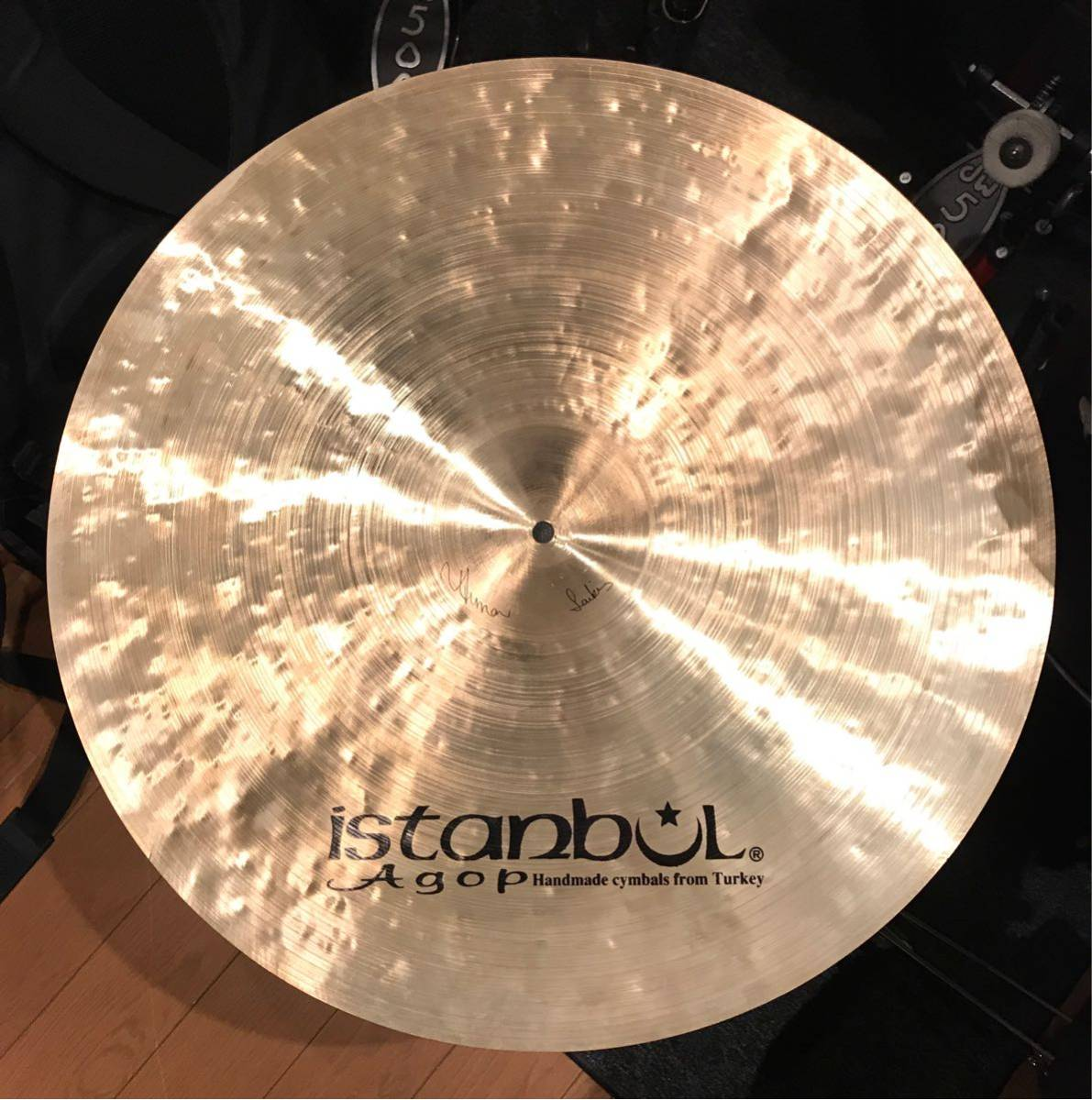 Istanbul Agop Special Edition FUSION RIDE 22 2600g_画像2