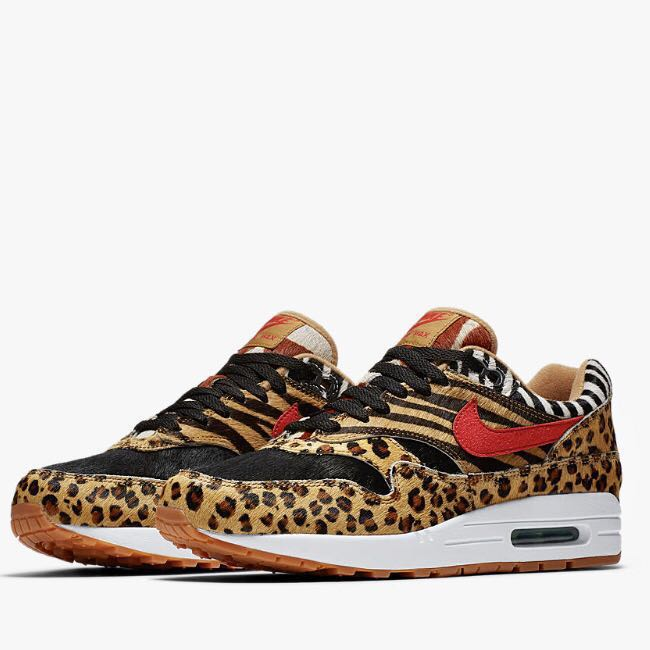 New Deadstock Nike Air Max 1 Atmos Animal Pack 2.0 (2018