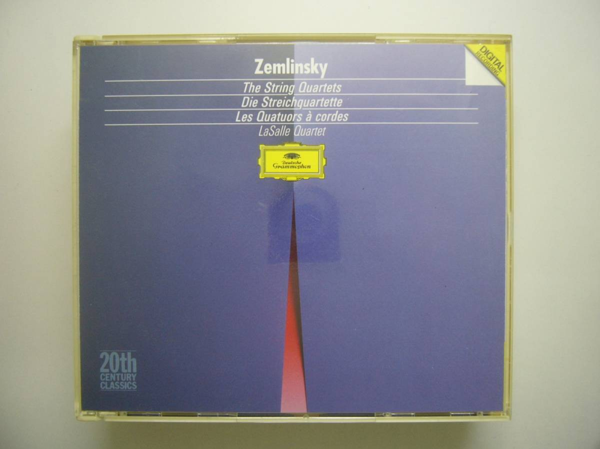 CD★ラサール弦楽四重奏団★ツェムリンスキー「弦楽四重奏曲」2枚組_画像1
