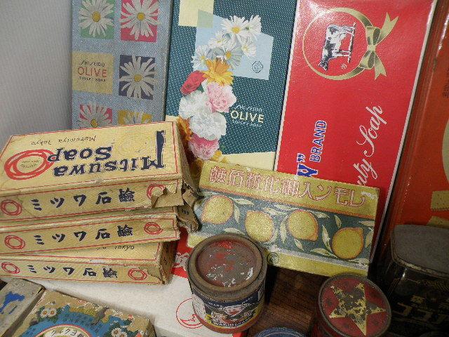 78 古い パッケージ 色々 まとめて 箱 缶 / 昭和レトロ 戦前 戦後 グリコ 広告 古い 昔 看板 宣伝 _画像4
