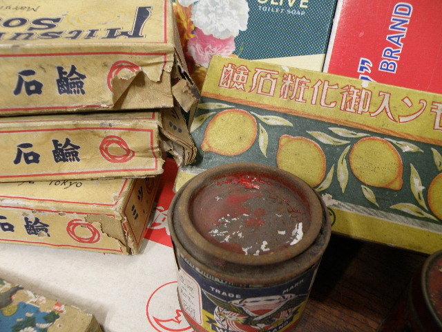 78 古い パッケージ 色々 まとめて 箱 缶 / 昭和レトロ 戦前 戦後 グリコ 広告 古い 昔 看板 宣伝 _画像5