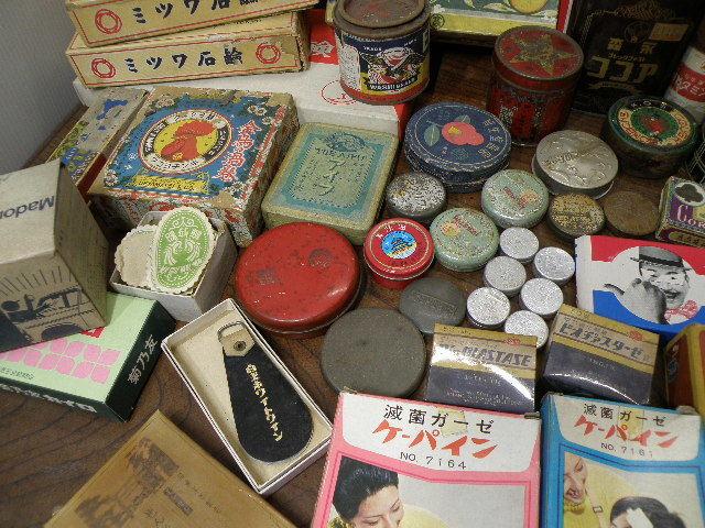 78 古い パッケージ 色々 まとめて 箱 缶 / 昭和レトロ 戦前 戦後 グリコ 広告 古い 昔 看板 宣伝 _画像6