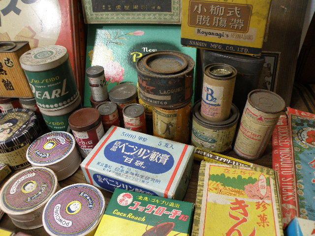 78 古い パッケージ 色々 まとめて 箱 缶 / 昭和レトロ 戦前 戦後 グリコ 広告 古い 昔 看板 宣伝 _画像8