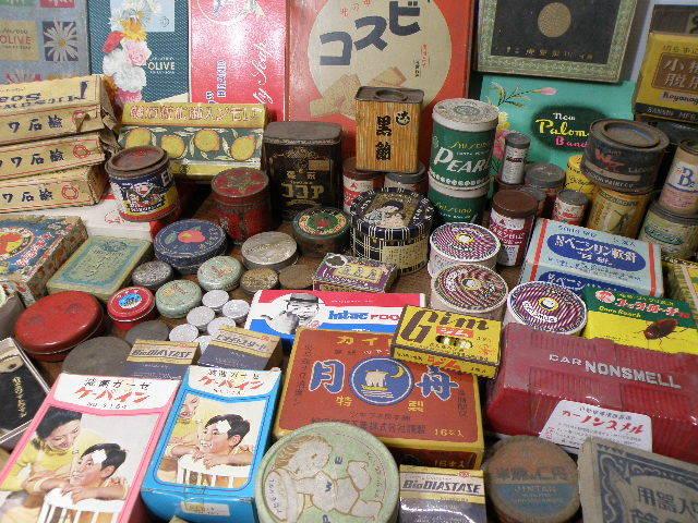 78 古い パッケージ 色々 まとめて 箱 缶 / 昭和レトロ 戦前 戦後 グリコ 広告 古い 昔 看板 宣伝 _画像10