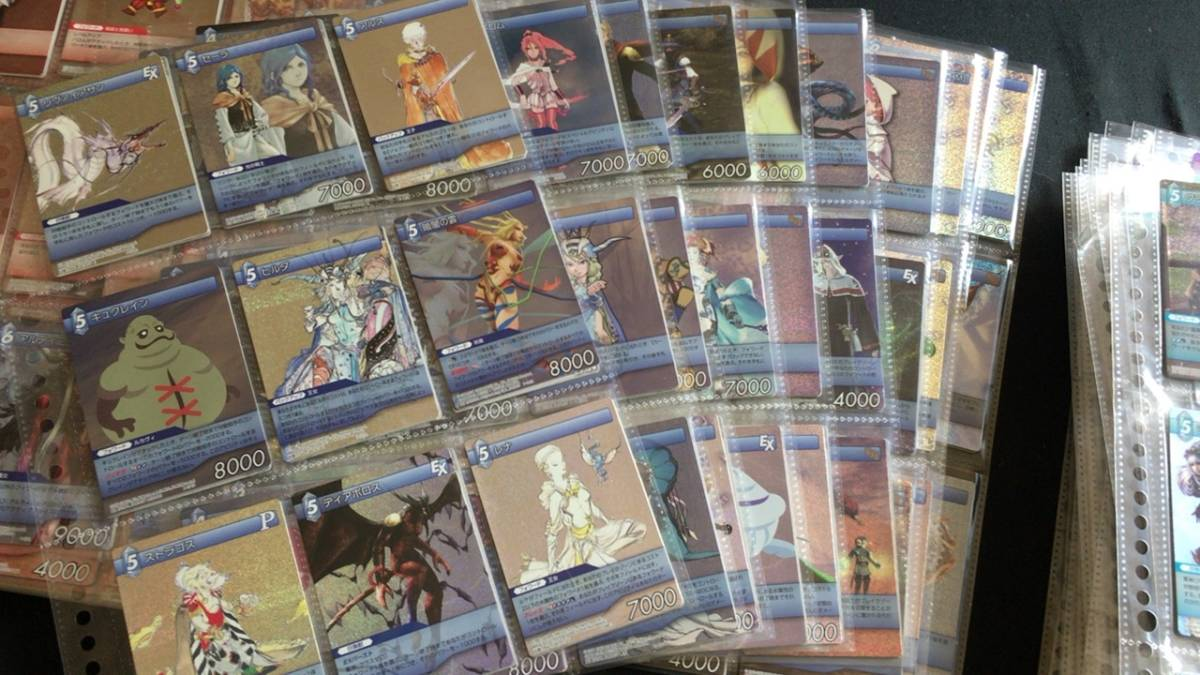 FINALFANTASY ファイナルファンタジー キラ含む カード 大量 セット_画像5