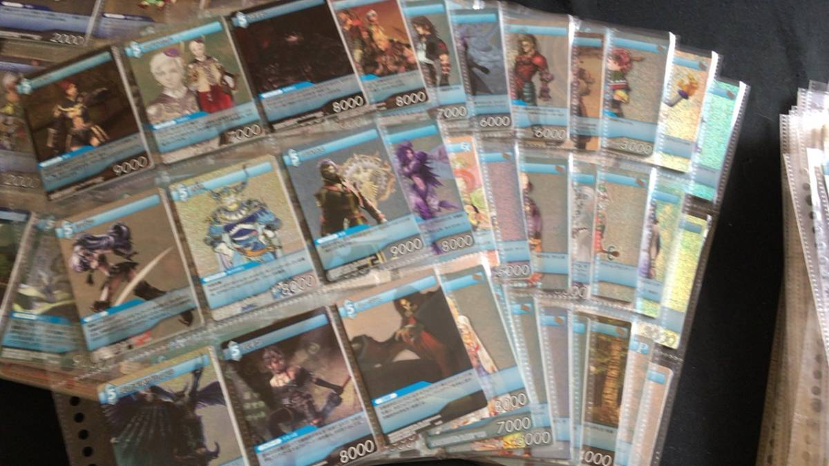 FINALFANTASY ファイナルファンタジー キラ含む カード 大量 セット_画像6