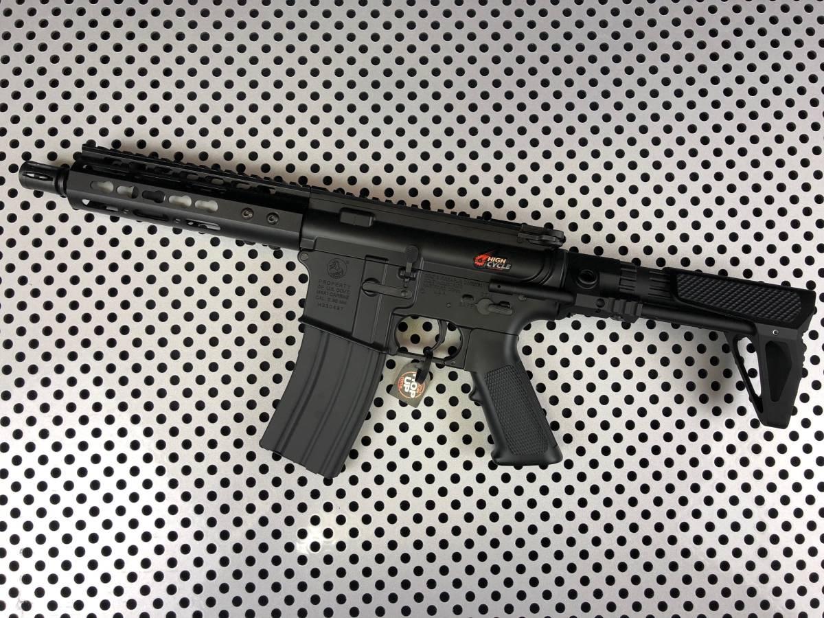 【東京マルイ】M4ハイサイクルCRW taapshopFET+ファインチューン+外装カスタム【新品】Lipoバッテリー仕様 M4/NSR【送料無料】_画像2