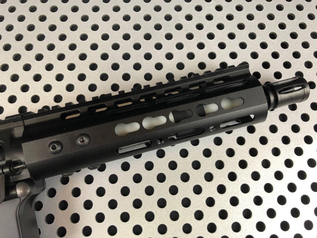 【東京マルイ】M4ハイサイクルCRW taapshopFET+ファインチューン+外装カスタム【新品】Lipoバッテリー仕様 M4/NSR【送料無料】_画像4
