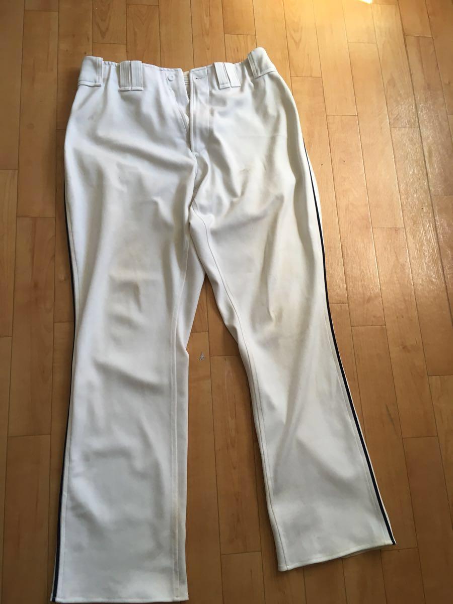 ミズノプロ製プロ野球選手実使用ズボン。