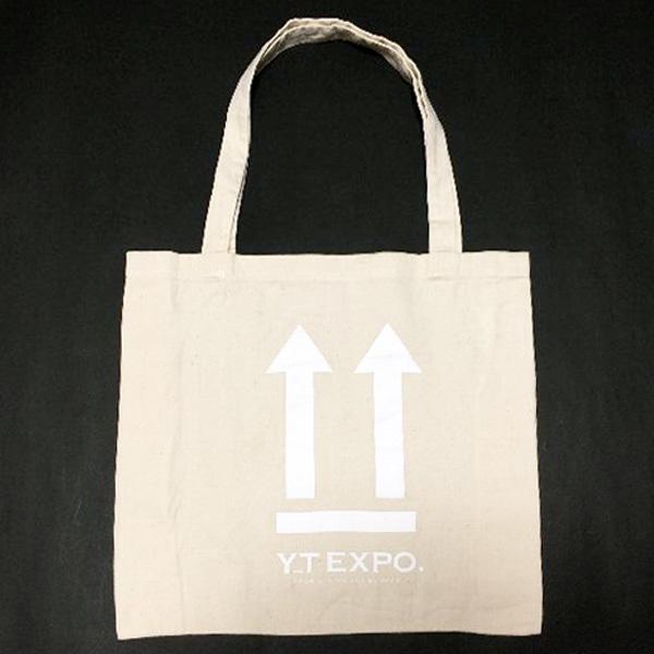 ■YT EXPO 生成りエコトートバッグ新品非売品■_画像1