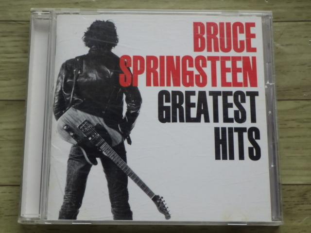 BRUCE SPRINGSTEEN GREATEST HITS 国内盤 CD 帯付き ブルース・スプリングスティーン グレイテスト・ヒッツ