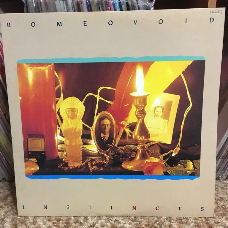 【 LPレコード】ロミオ・ヴォイド/インスティンクツ 再生確認済み 国内盤 LP_画像1