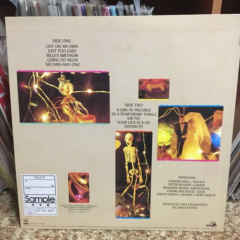 【 LPレコード】ロミオ・ヴォイド/インスティンクツ 再生確認済み 国内盤 LP_画像2