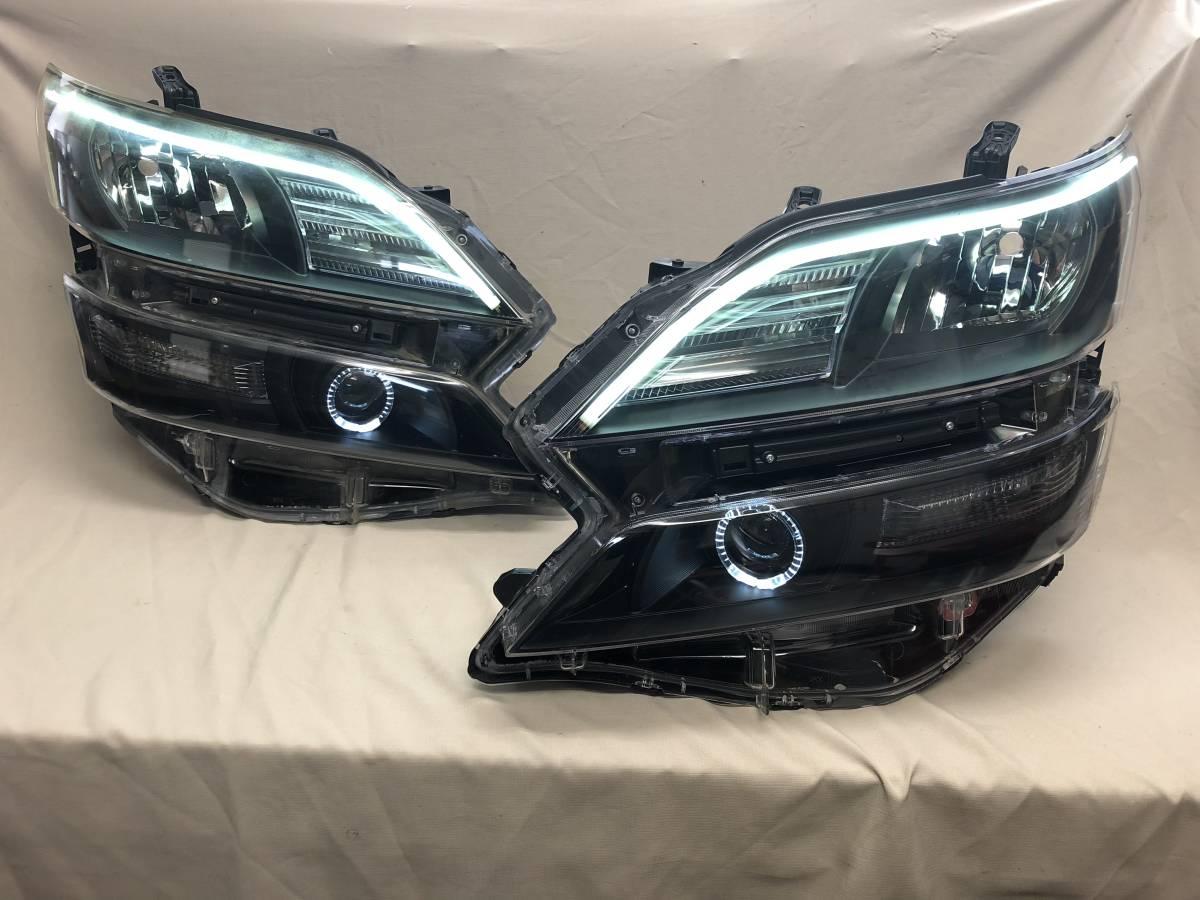 20ヴェルファイア シーケンシャルウインカー アクリルイカリングブラックライト 在庫品即発送!
