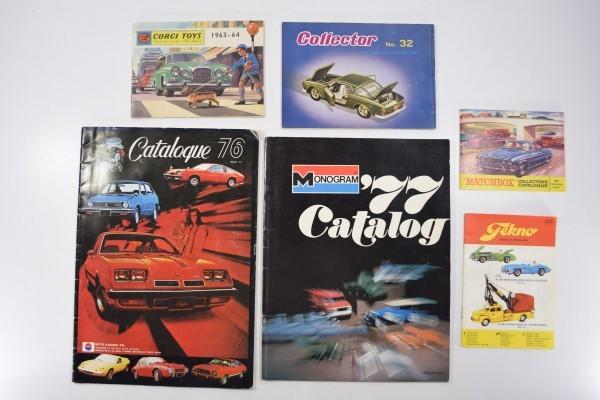 当時物 プラモデル マッチボックス コーギートイズ ミニカー カタログ 日東科学 6冊セット まとめて DAI-222