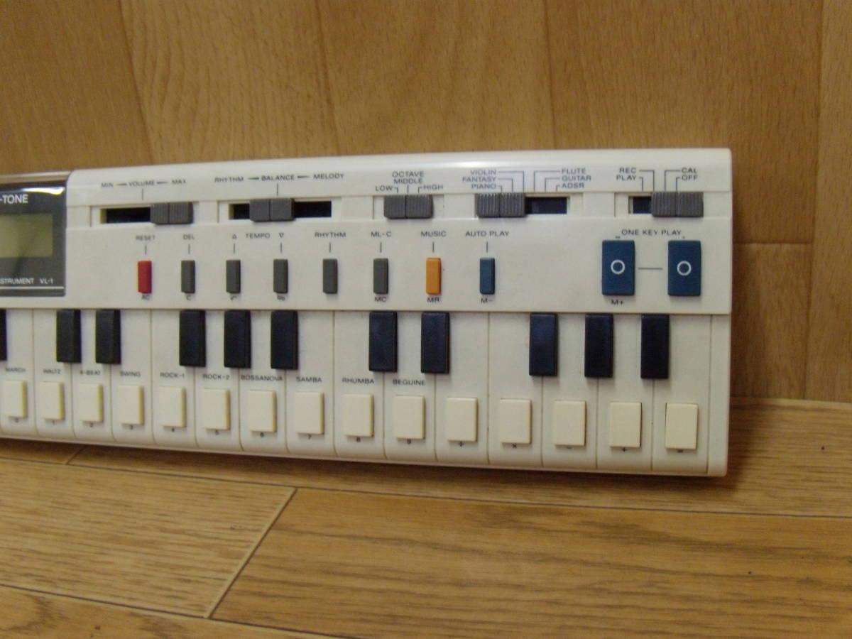 17.- CASIO / カシオ VL-TONE VL-1 電子キーボード _画像5