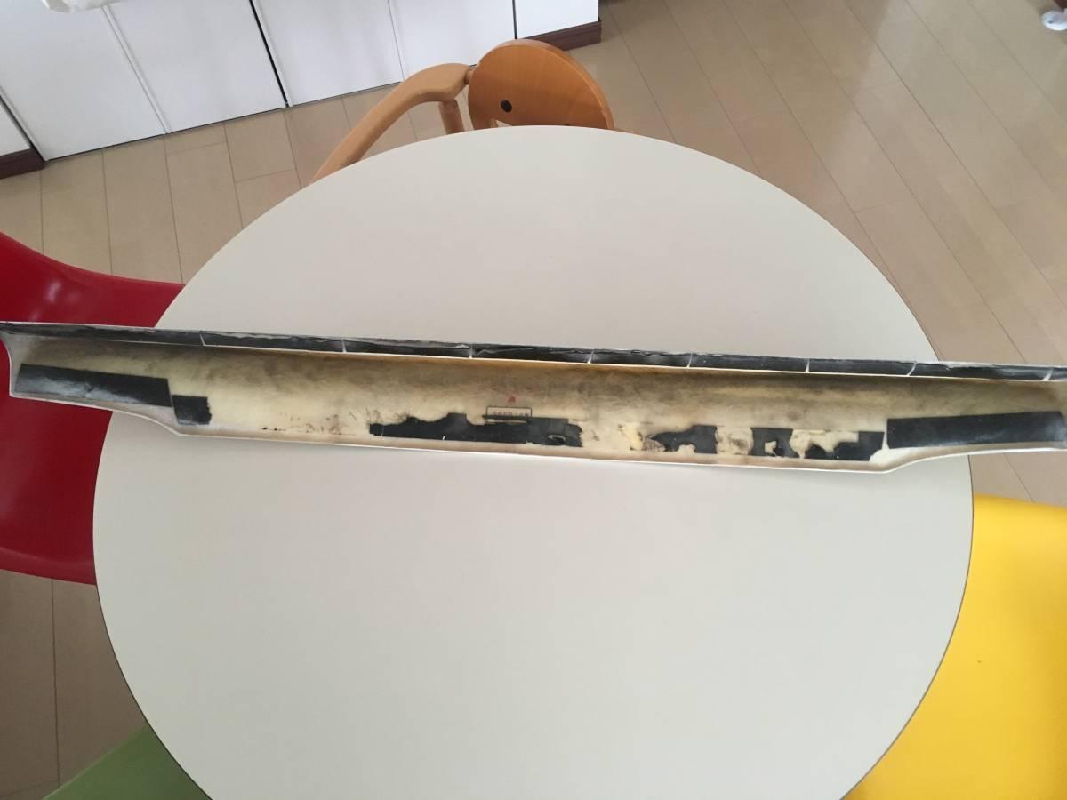 トランク リヤ スポイラー ダックテール メーカー不明 ジャンク  ロードスター NA6  NA8 白 エアロ 当時物 M2_画像7
