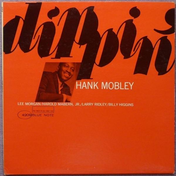 【オリジナル】DIPPIN' / Hank Mobley★RVG★
