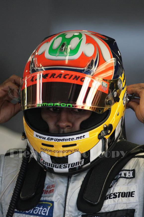 2010年 HRT F1 フォーミュラ1 ヒスパニアレーシング F110 カルン・チャンドック フォト 5枚付き ④_画像4