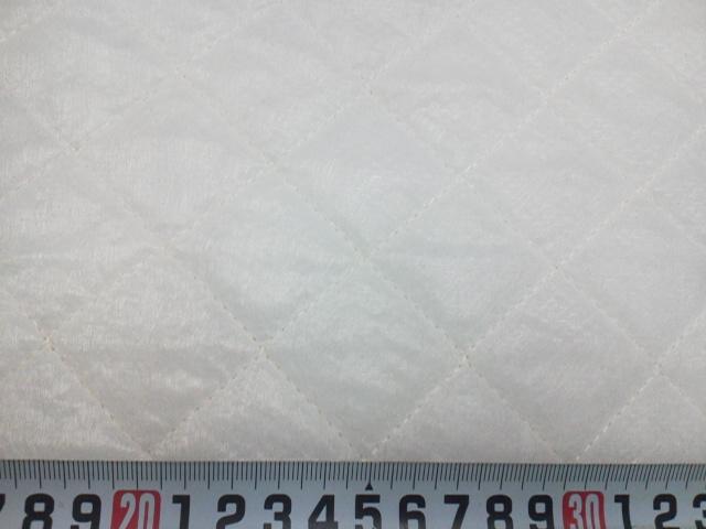新 キルト芯●(Q-60)両面 不織布キルト 約107㎝幅:ズバリ1m/599円! ドミット芯 より柔らかい♪ 手芸用 中綿 副資材 教材 に♪ 布 生地 _画像1