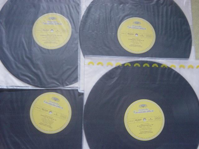 LP レコード カラヤン/ベートーヴェン交響曲全集八枚組 KARAJAN BEETHOVEN_画像9