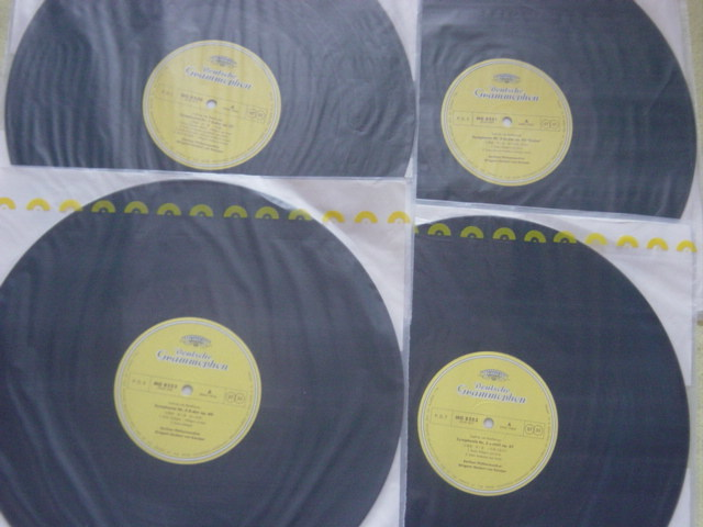 LP レコード カラヤン/ベートーヴェン交響曲全集八枚組 KARAJAN BEETHOVEN_画像8