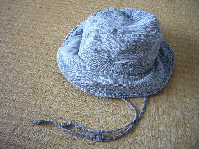 MUJI無印良品子供用ハット帽子ムジルシ54センチ