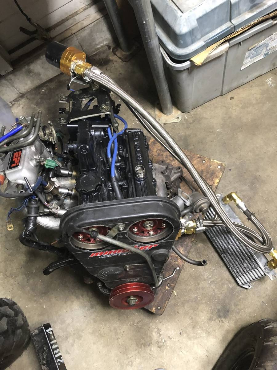 720cc+HT07タービン F6A カプチーノ・AZ-1・アルトワークスなど