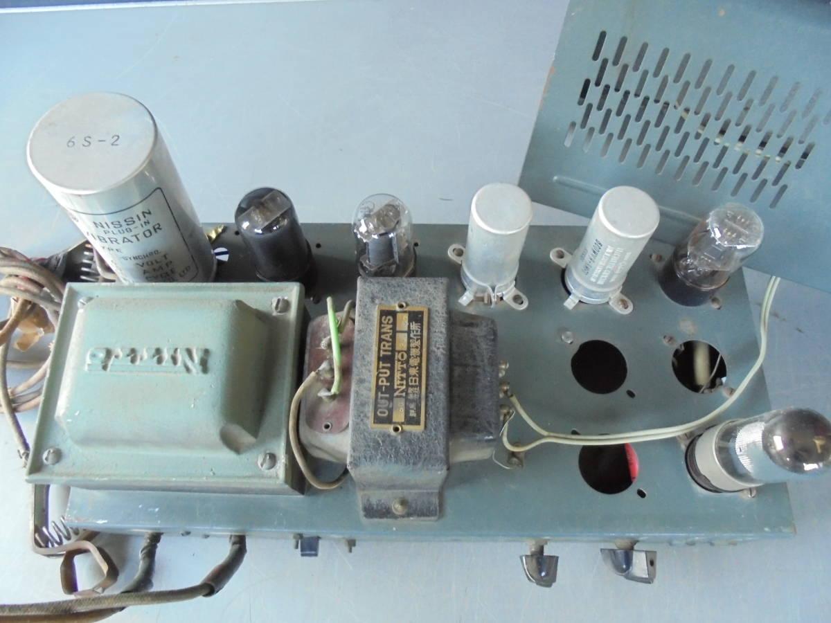 真空管 アンプ OUT-PUT TRANS 日東電気機製作所 NITTO ジャンク (2083)_画像6