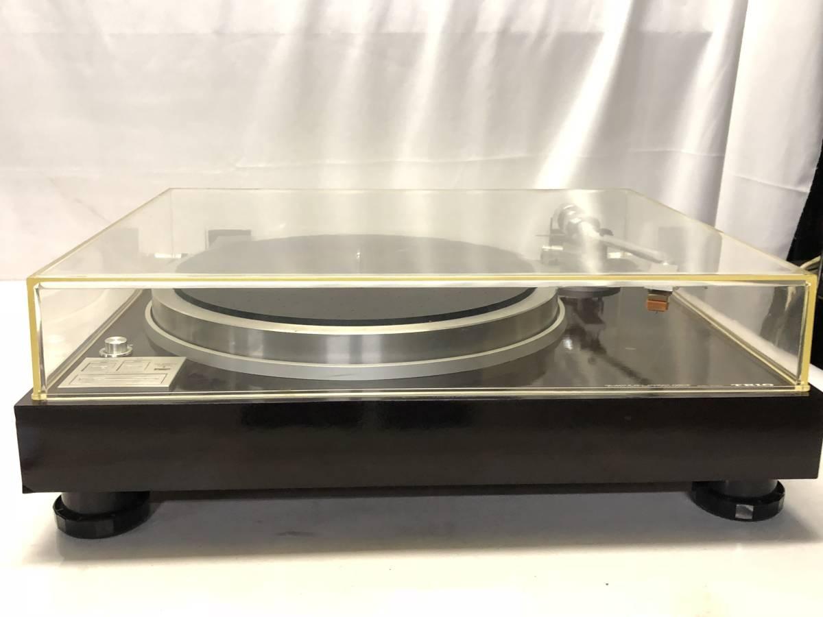 [中古 ターンテーブル カートリッジ付]TRIO KP-700+audio-technica ATN-120a_画像1