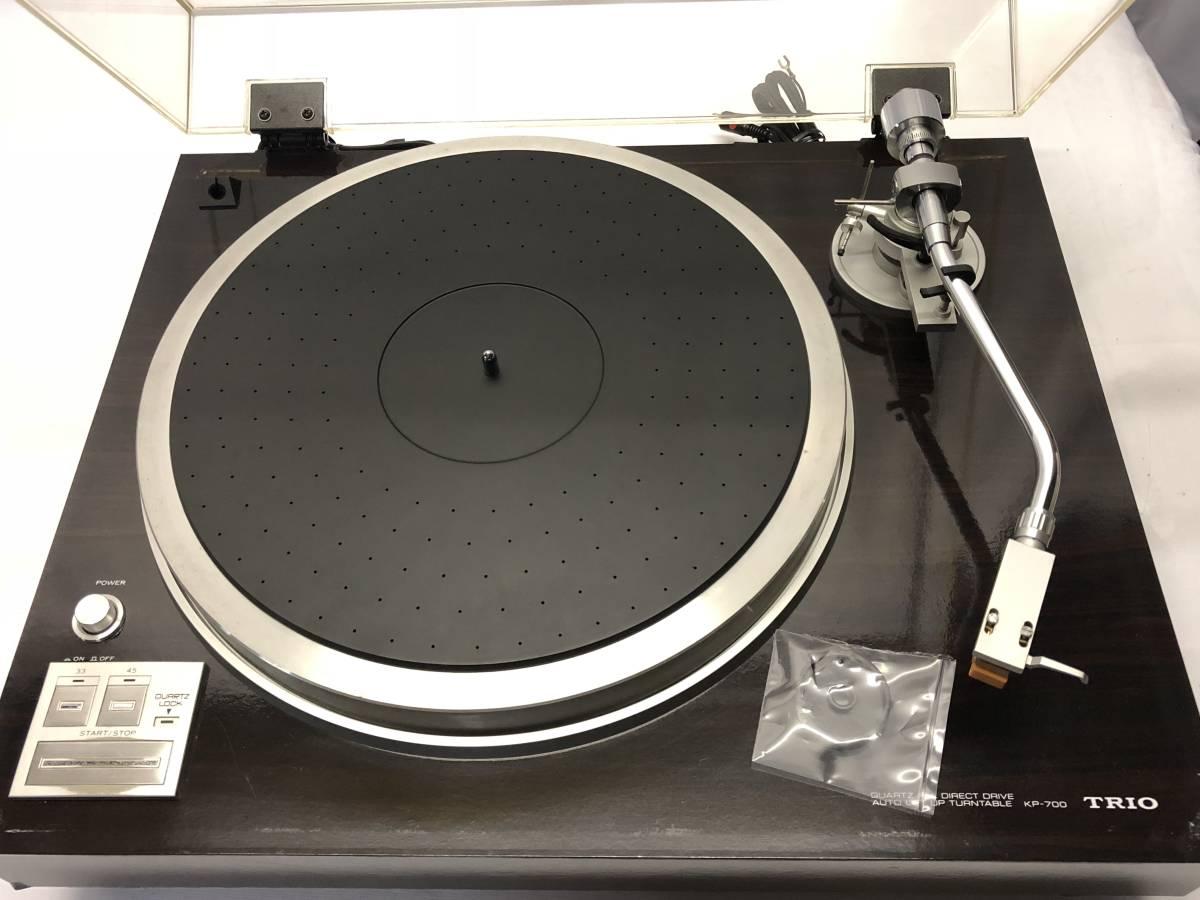[中古 ターンテーブル カートリッジ付]TRIO KP-700+audio-technica ATN-120a_画像2