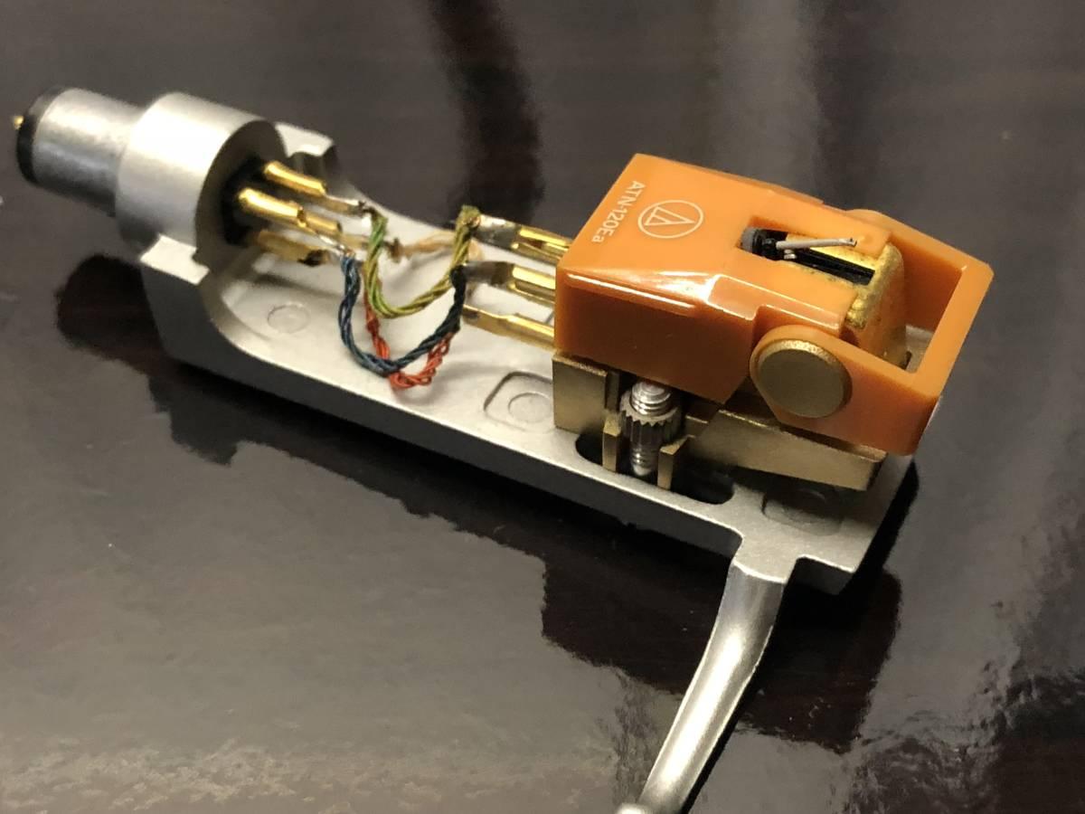 [中古 ターンテーブル カートリッジ付]TRIO KP-700+audio-technica ATN-120a_画像4