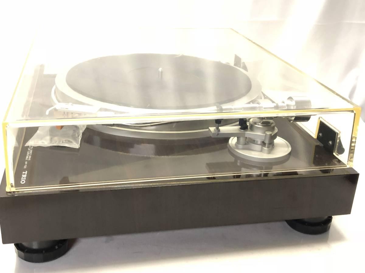 [中古 ターンテーブル カートリッジ付]TRIO KP-700+audio-technica ATN-120a_画像7