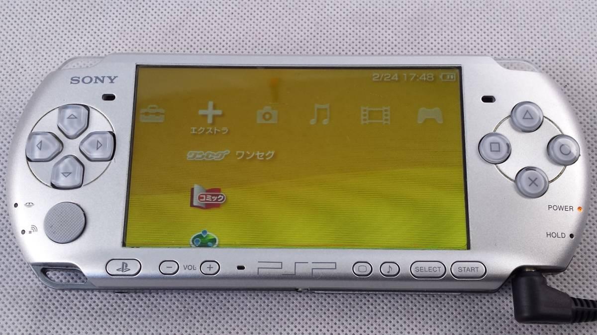 SONY ソニー PSP 3000 本体 動作OK! 中古