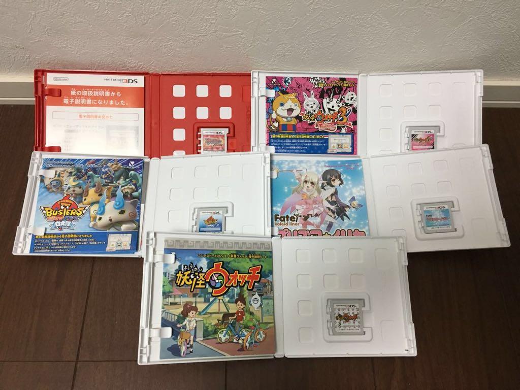3DS 中古 10本セット ドラゴンクエスト プリズマイリヤ ポケモン 進撃の巨人 妖怪ウォッチ まとめ 大量 ジャンク_画像4