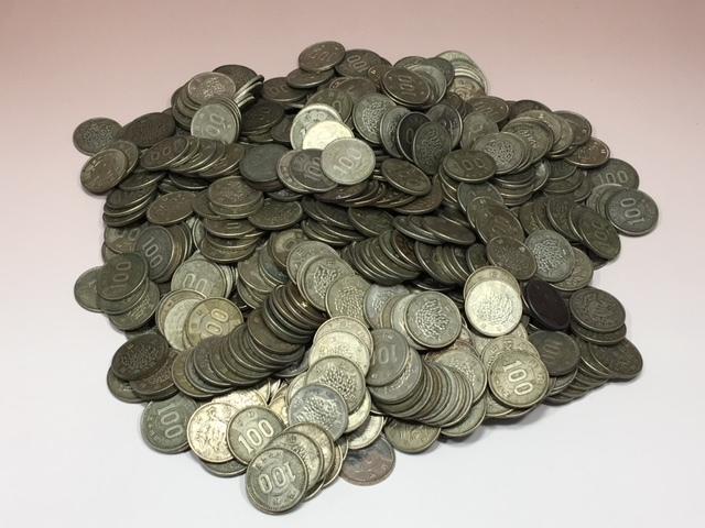 100円銀貨 大量! 稲・オリンピック・鳳凰各種 美品から流通品まで 稲462枚・オリンピック30枚・鳳凰158枚 おまとめ657枚 売り切り