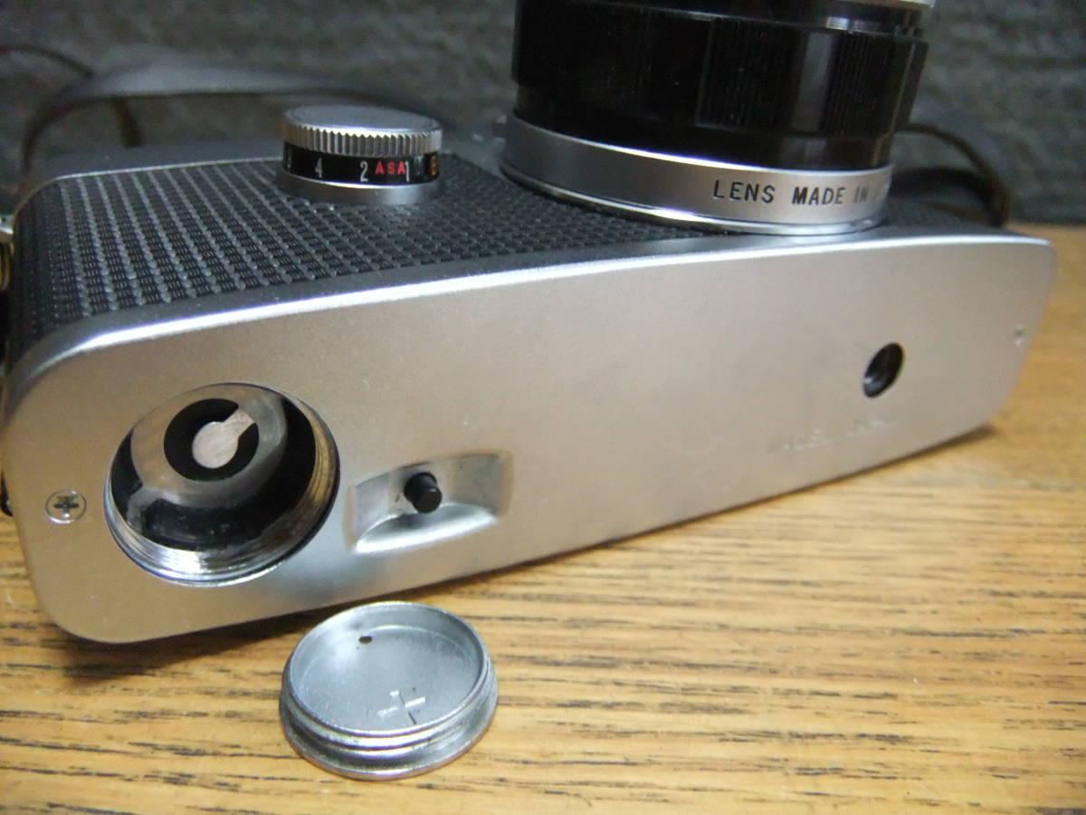 【外装極美】★OLYMPUS PEN-FT/F.Zuiko Auto-S 38mm F1.8(箱・ケース付き)★_画像7