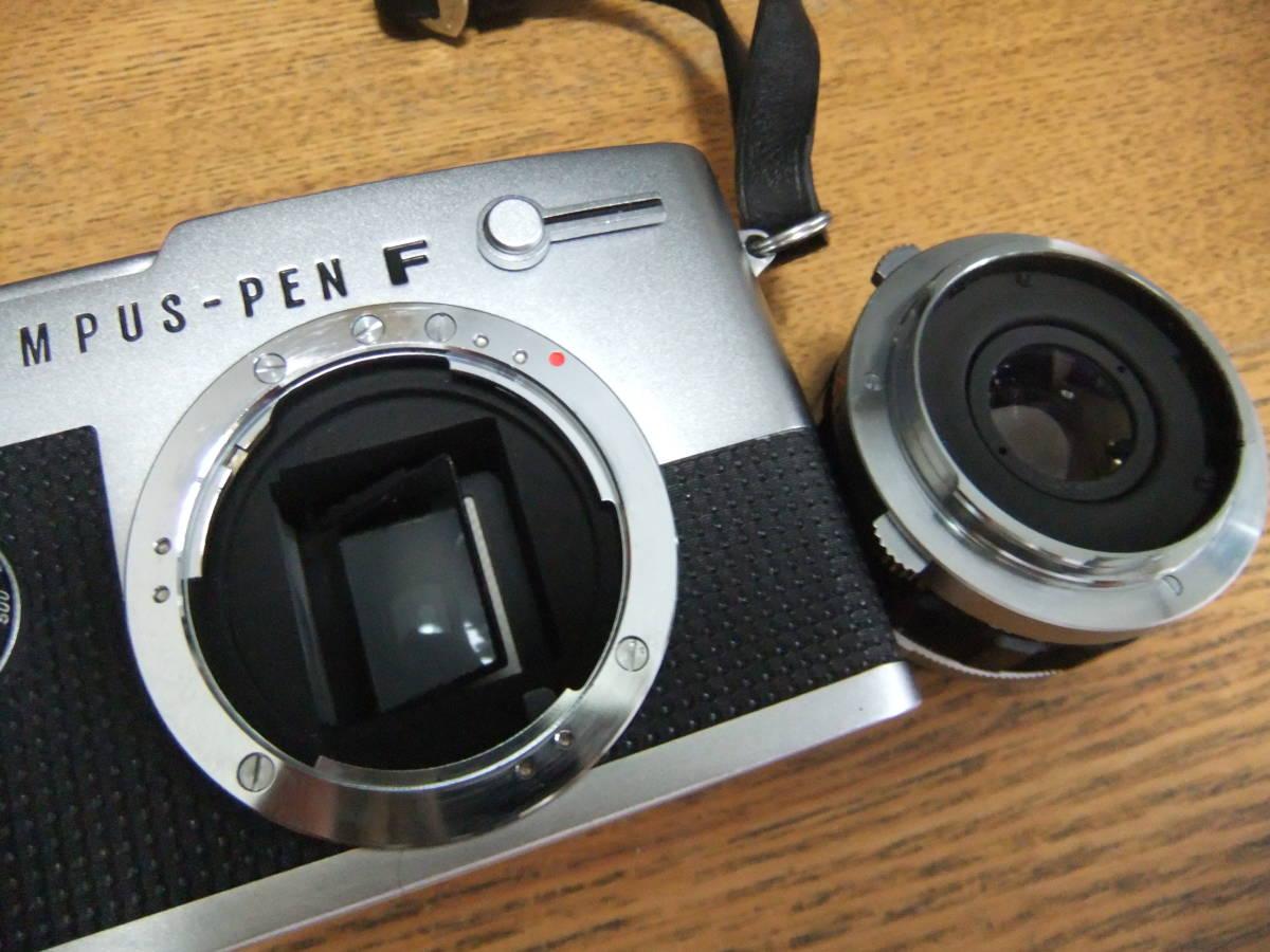 【外装極美】★OLYMPUS PEN-FT/F.Zuiko Auto-S 38mm F1.8(箱・ケース付き)★_画像6