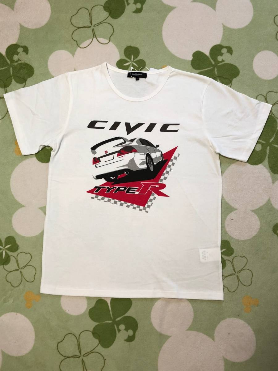 Honda Civic Type R T Shirt Civic Type R Fd2 Real Yahoo Auction Salling