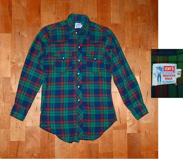 ■【60年代・サドルマン・LEVI'S】 シャツ①/ウエスタン ロングホーン ショートホーン 40s50s60s70s_画像1