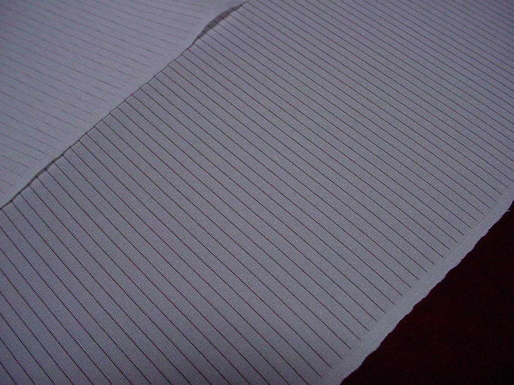 【特選!夏用襦袢 正絹 駒絽長襦袢 巾38cm 正絹100% 白地 新品 日本製】_画像3
