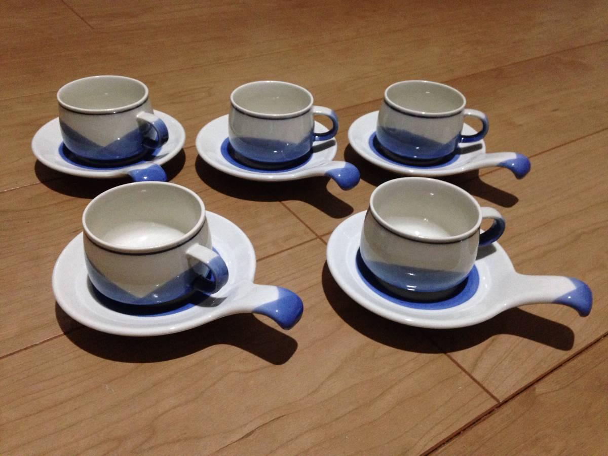 面白い形のコーヒーセット_画像1