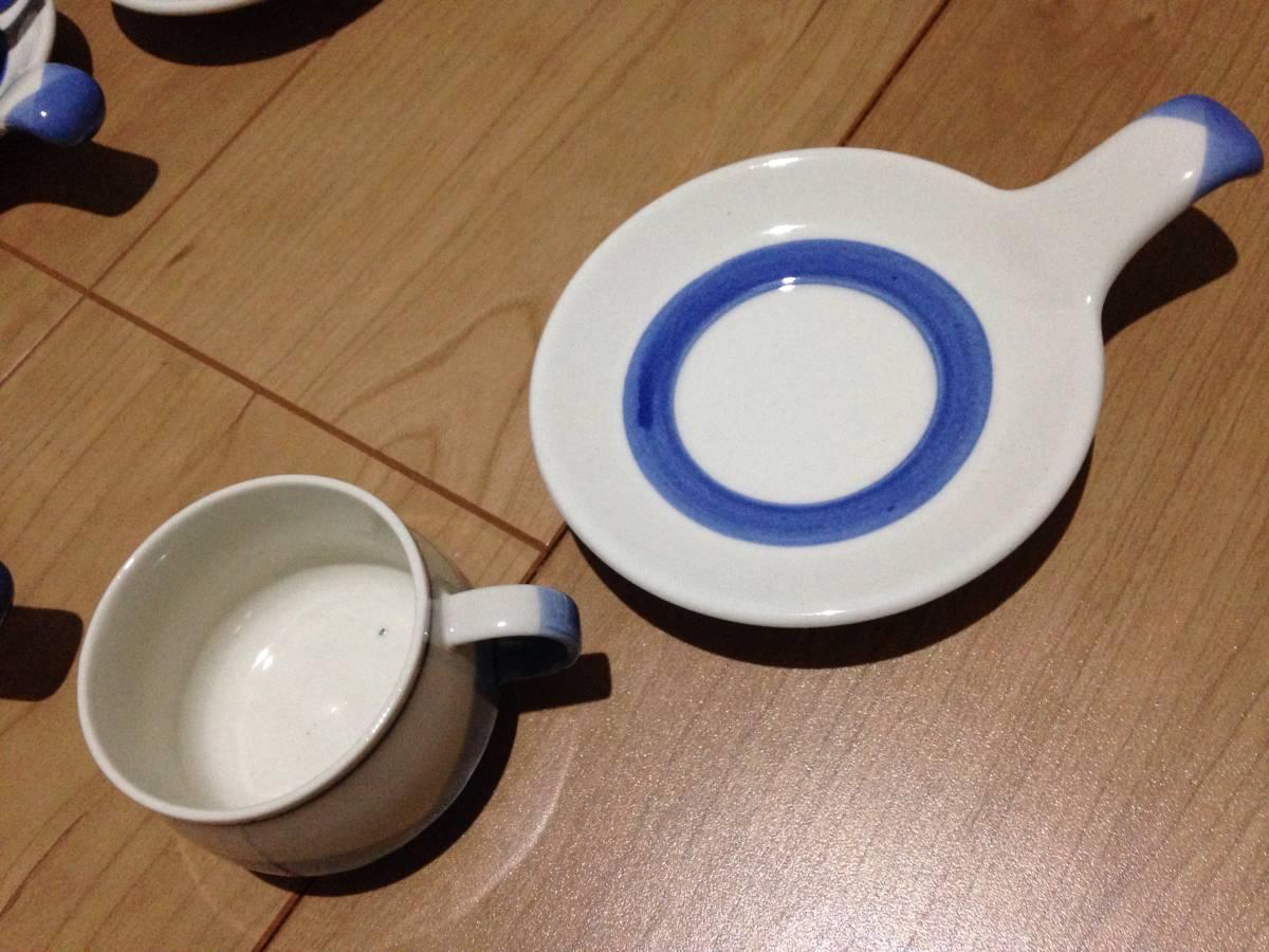 面白い形のコーヒーセット_画像2
