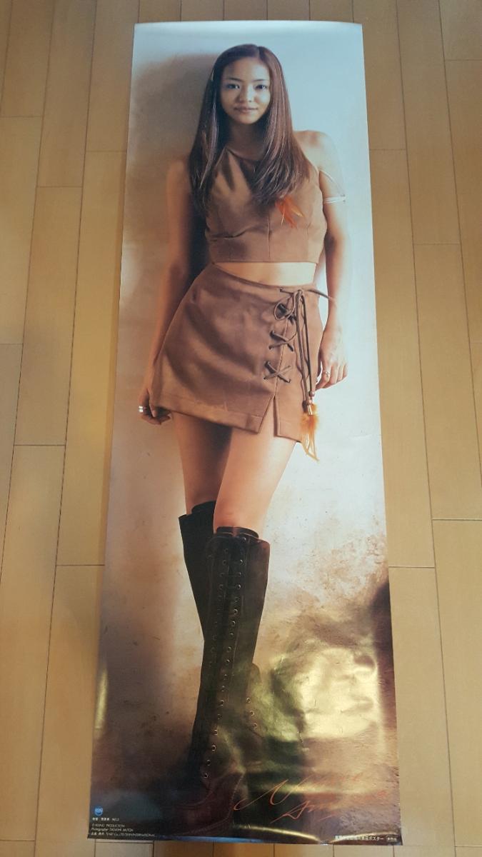 安室奈美恵 等身大ポスター170センチ 非売品 レア 美品